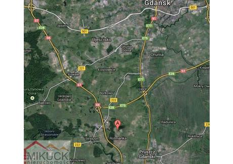 Działka na sprzedaż - Łąkowa Rotmanka, Pruszcz Gdański, 527 m², 160 000 PLN, NET-M1031