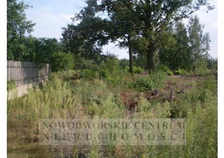 Działka na sprzedaż - Nowy Dwór Mazowiecki, Nowy Dwór Mazowiecki, Nowodworski, 780 m², 100 000 PLN, NET-575/251/ODzS
