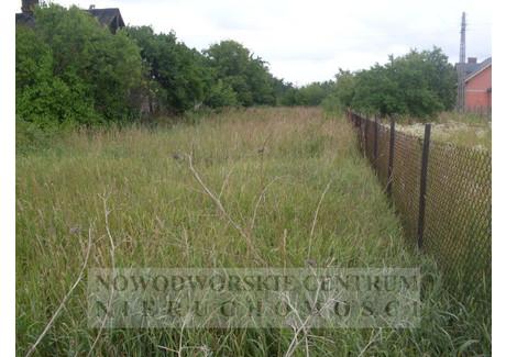 Działka na sprzedaż - Nowy Dwór Mazowiecki, Nowy Dwór Mazowiecki, Nowodworski, 1397 m², 280 000 PLN, NET-456/251/ODzS