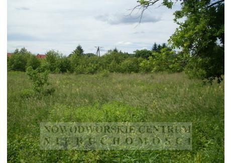 Działka na sprzedaż - Nowy Dwór Mazowiecki, Nowy Dwór Mazowiecki, Nowodworski, 1200 m², 180 000 PLN, NET-643/251/ODzS