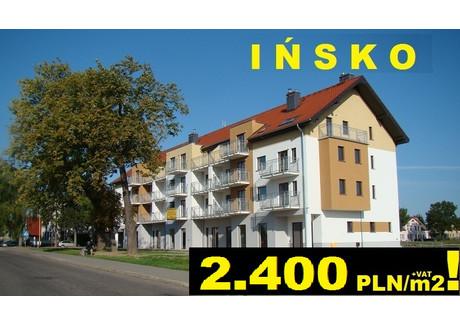 Mieszkanie na sprzedaż - Ińsko Bohaterów Warszawy 36B Ińsko, Parki Krajobrazowe, Jeziora, Recz, Choszczeński, 33,2 m², 79 680 PLN, NET-IM1Recz