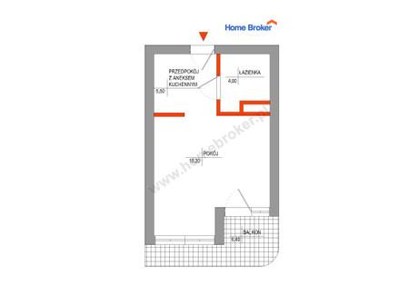 Mieszkanie na sprzedaż - Generała Karola Świerczewskiego Mogiel, Lipnica , bytowski , pomorskie , 27,7 m², 229 000 PLN, NET-187190
