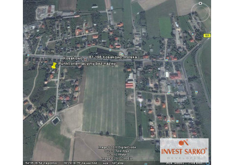 Działka na sprzedaż - LILIOWA Kosakowo, Puck, 495 m², 150 000 PLN, NET-SR0917