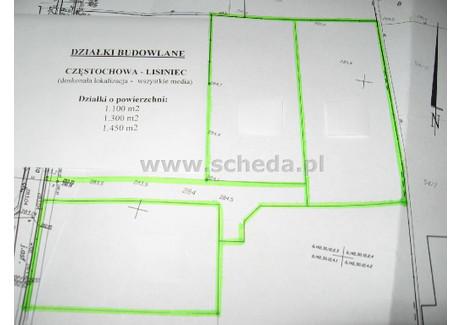 Działka na sprzedaż - Lisiniec, Częstochowa, Częstochowa M., 1308 m², 247 000 PLN, NET-SCH-GS-2779