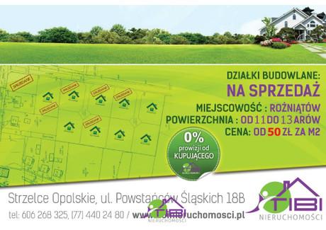 Działka na sprzedaż - Wolności Rożniątów, Strzelce Opolskie, Strzelecki, 1305 m², 65 250 PLN, NET-TBI-GS-127