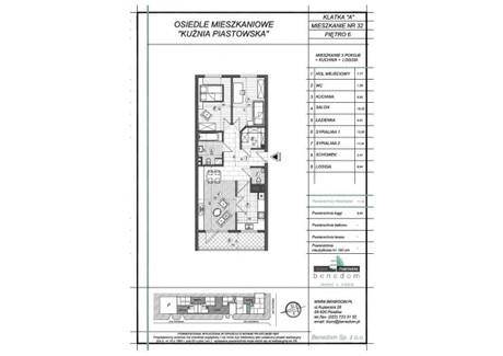 Mieszkanie na sprzedaż - ul. Sowińskiego Warszawa, Piastów, pruszkowski, 71,29 m², inf. u dewelopera, NET-6A32