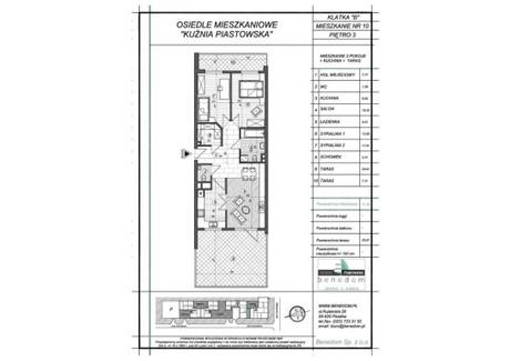 Mieszkanie na sprzedaż - ul. Sowińskiego Warszawa, Piastów, pruszkowski, 71,29 m², inf. u dewelopera, NET-3B10