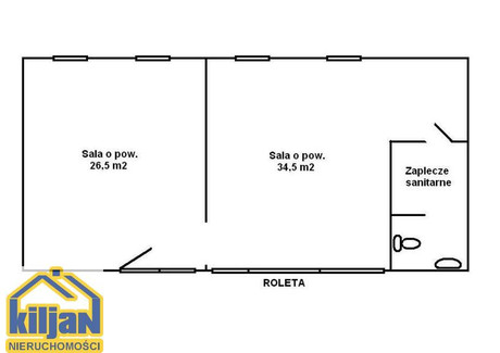 Lokal usługowy na sprzedaż - Zwycięstwa Nowobramskie, Koszalin, 60,99 m², 185 000 PLN, NET-120611